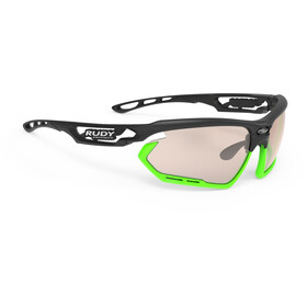 Rudy Project Fotonyk Cykelbriller, black matte - impactx photochromic 2 laser brown